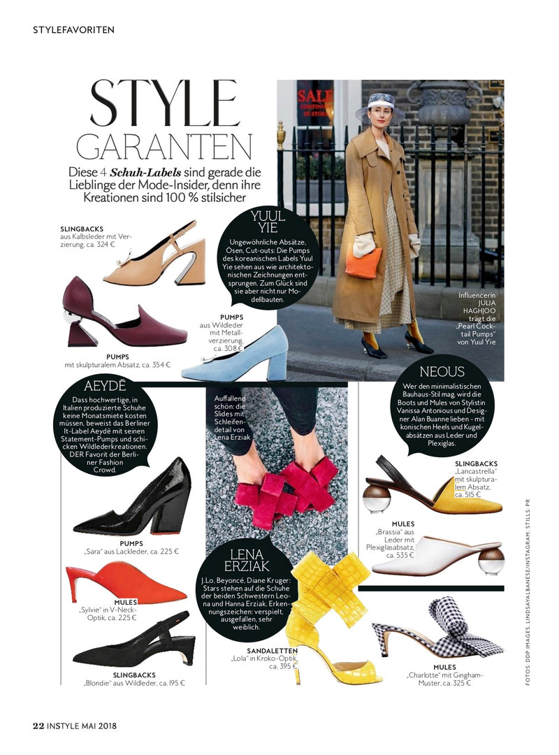 In Style Magazine - May'18
