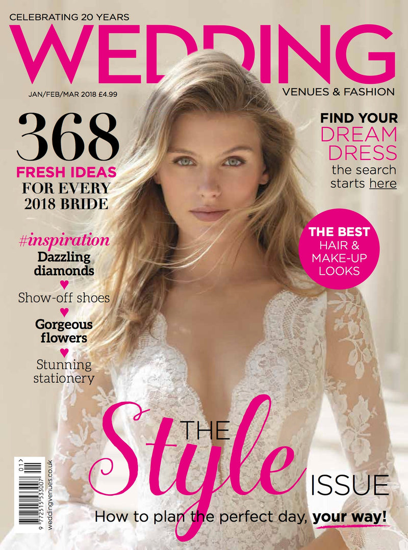 Jan/Feb/March 2018 issue of Wedding UK