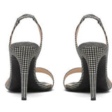 Garbo Black & White Houndstooth