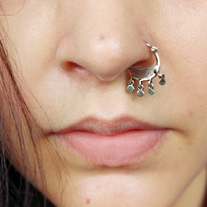 Surabhi nose ring