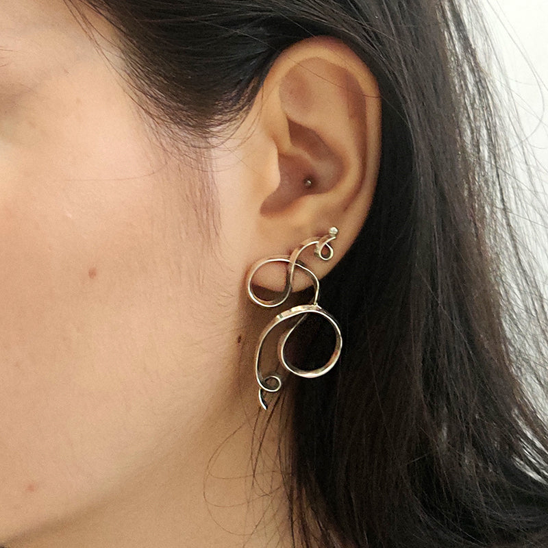 Doodle earrings