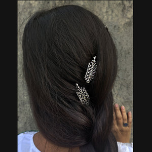 Lattice hair pin