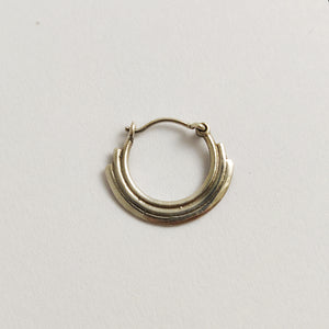 Layered nose ring