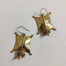 Sailing off the edge earrings