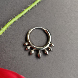 Spike nose ring