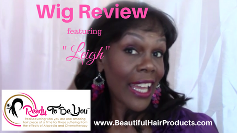 "Wig Review | ""Leigh"" from Ready To Be You wig collections"