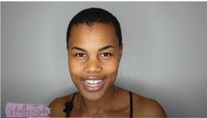 @NaturallyAsabi's Wash Routine with Beautiful Hair Products