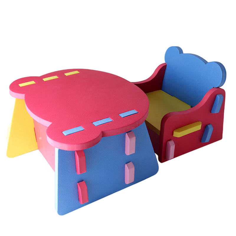 NEW! Kids Foam Table and Chair Set | Lightweight and Safe