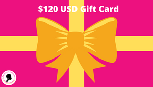 $120 gift card
