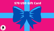 $70 gift card