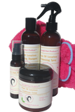 Argan Oil Set +Hot Pink Towel cap