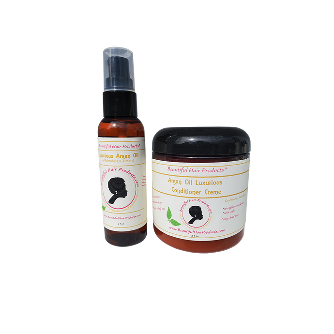 argan oil and conditioner