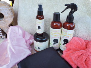 Beautiful Hair Products Moisturizing System Bundles - Lavender Peppermint Argan