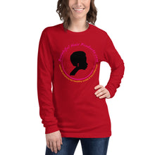 long sleeve t-shirt women red