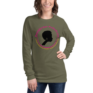 long sleeve t-shirt women army green