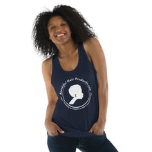tank top women navy inverted