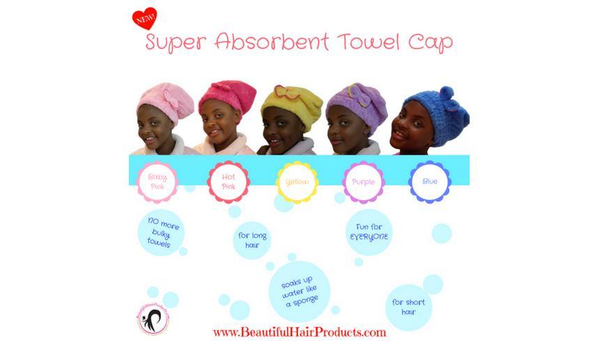 Super Absorbent Towel Cap