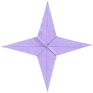 origami-four-point-star
