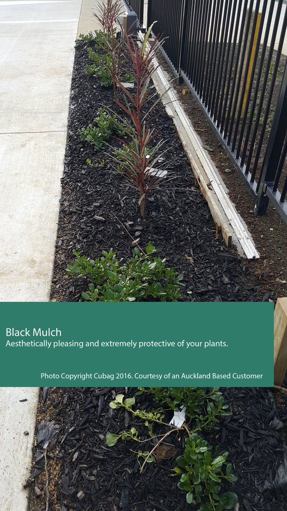Black Mulch 1m³ Cubag