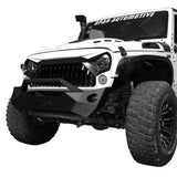 Front White Painting Gladiator Vader Grille For Jeep Wrangler JK 2011-2017 2D/4D