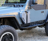 CROWBAR FRONT-REAR FENDER SET FOR TJ/LJ
