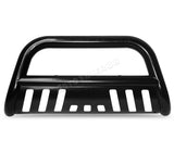 Black Bull Bar Bumper Brush Push Grill Grille Guard For 05-15 Toyota Tacoma