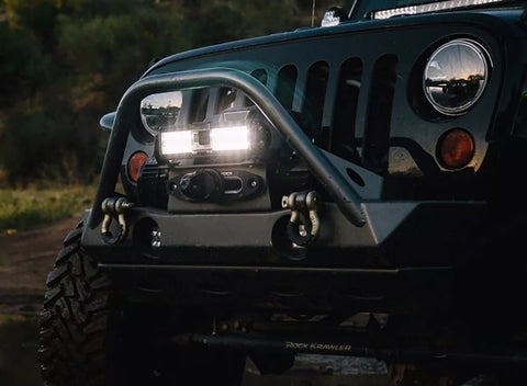 Rigid Industries capture light bar with integrated GoPro system