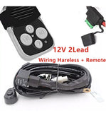 Wiring Harness Kit Remote Control Switch For your light bar
