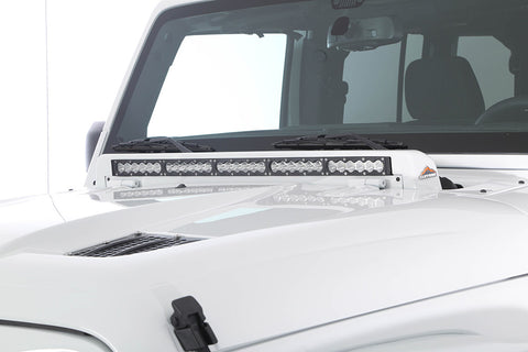 CLEGHORN LIGHT BAR WIPER COWL FOR JK