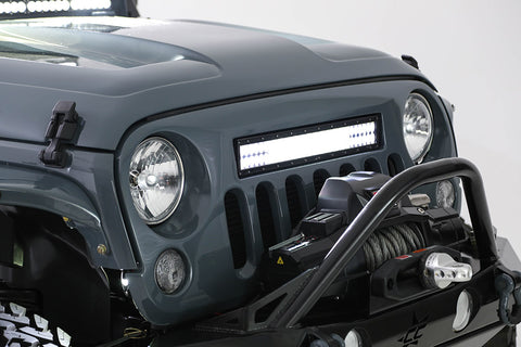HOLCOMB LIGHT BAR GRILLE FOR JK