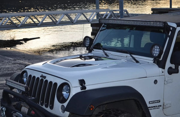 Best Winch For Jeep Wrangler >> Rubicon 10th year anniversary hood for jeep jk 07-17 – Offroad auto parts