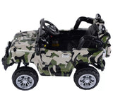Jeep Wrangler 12v Battery Powered Electric Ride On Toy Kids Car Remote