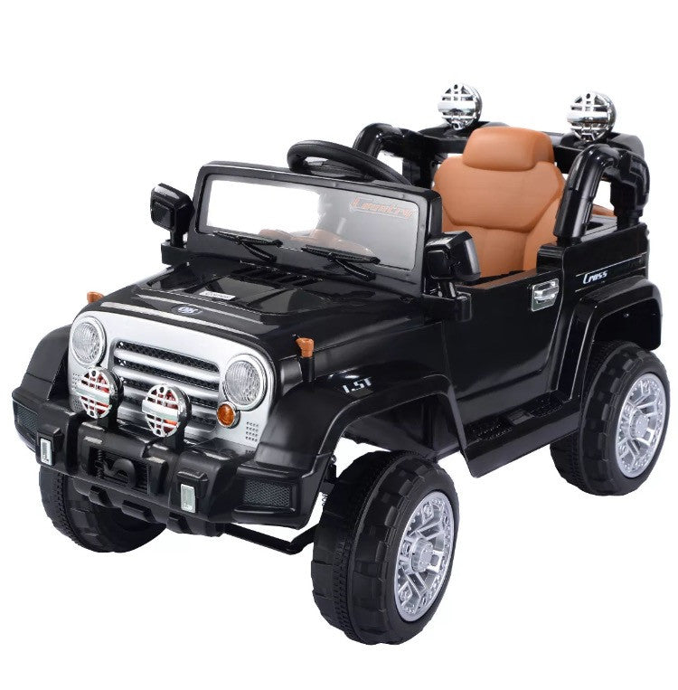 Jeep Wrangler 12v Battery Powered Electric Ride On Toy Kids Car