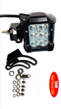 1X 300W-700W  2X 18W  LED Light + ( wiring kit + brackets )Jeep Wrangler jk