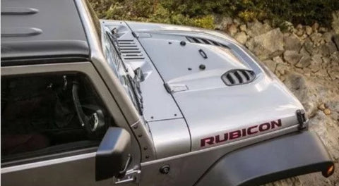 Rubicon 10th year anniversary hood for jeep jk 07-17
