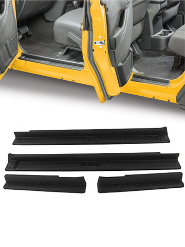 Entry door sill Guard for Jeep Wrangler 07-16 4door