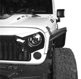 Jeep Wrangler JK 07-18 Destroyer Front & Rear Tube Fender Flares