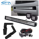 "Hidden Bumper Mounting Brackets For 30"" LED Light Bar Fit Toyata Tacoma 05-15"