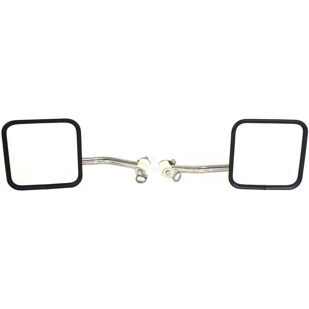 Kool Vue Pair Mirror For 97-05 Jeep Wrangler (TJ) Driver