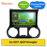 For JEEP Wrangler 2017 HD Touch Android 7.1 Car GPS Navi Radio Stereo Bluetooth