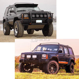 Pocket Rivet Style Fender Flares Set for 84-01 Jeep Cherokee XJ