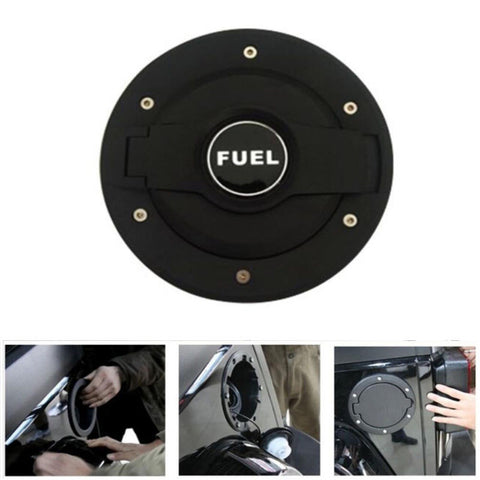 New Fuel Filler Door Cover Gas Tank Cap for 07-16 Jeep Wrangler JK & Unlimited