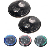"Philips 7"" Round 45W LED Projector Headlights RGB For Jeep Wrangler JK/TJ/LJ/CJ"