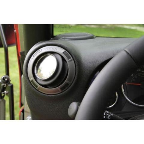 Steinjager Stick On Door-less Vent Side Mirrors Jeep Wrangler JK 07-16