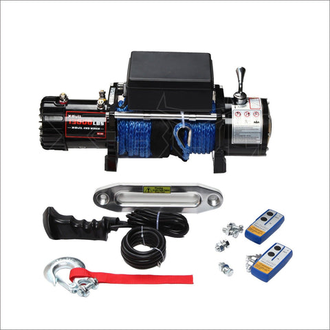 X-BULL-12V-13000LBS-Electric-Winch-Towing-Truck-Trailer-Synthetic-Rope-12000LBS