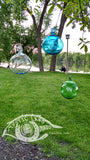 Blown Glass - Blown Ball ~ INSIDE OUT Memory Ball
