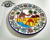 Ceramic Plates - The Arab & The Dessert