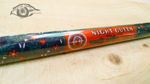 Incense Sticks - Night Queen - Burning Incense Sticks - Agarbatti