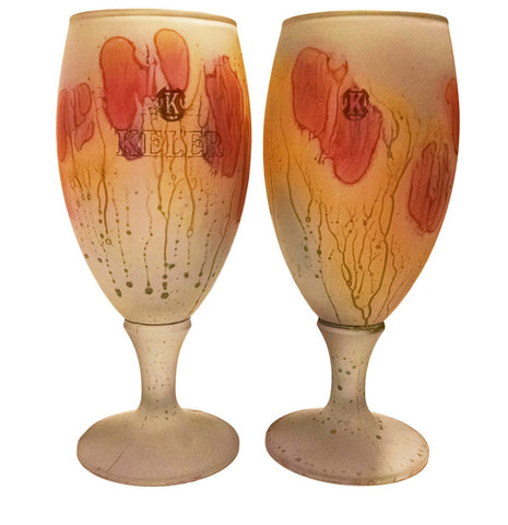 Tulip Glass - Love Fever Tulip Glass