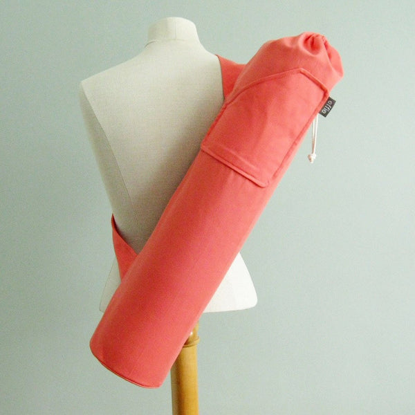 Yoga Mat Bag (Coral)